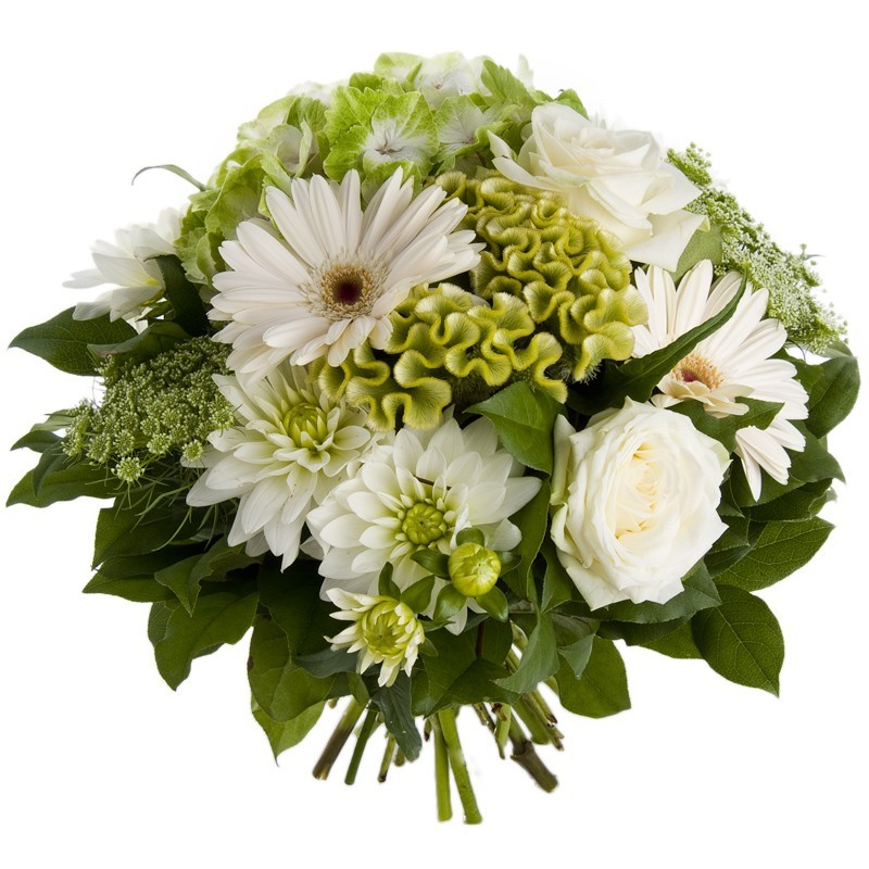 bouquet rond, mariage