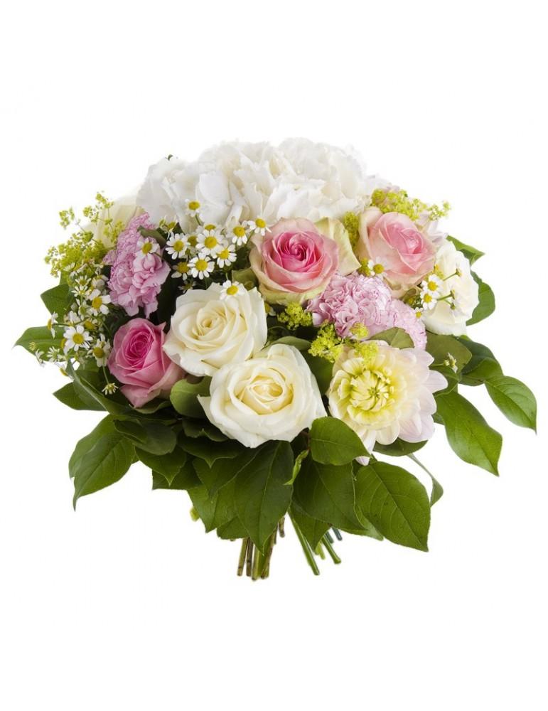 Bouquet de fleurs d'été. Pastels