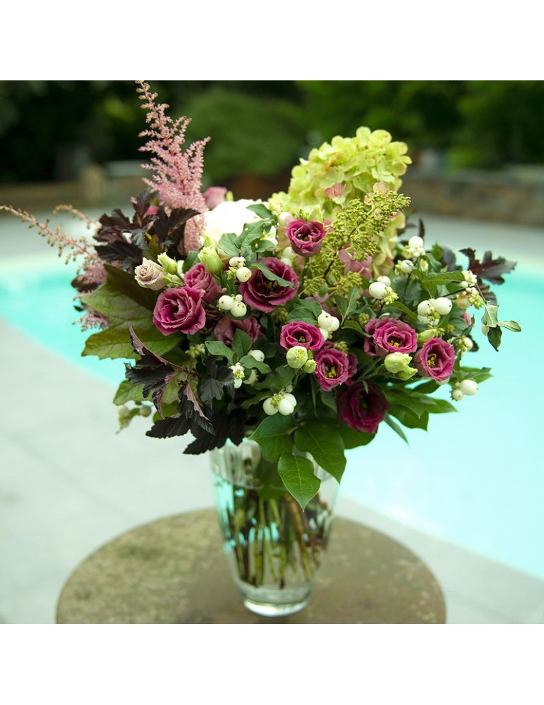 grand bouquet long lisianthus