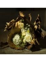 bouquet rustique couché