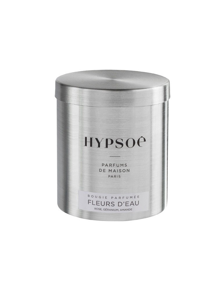 Bougie Hypsoe - Fleurs d'Eau