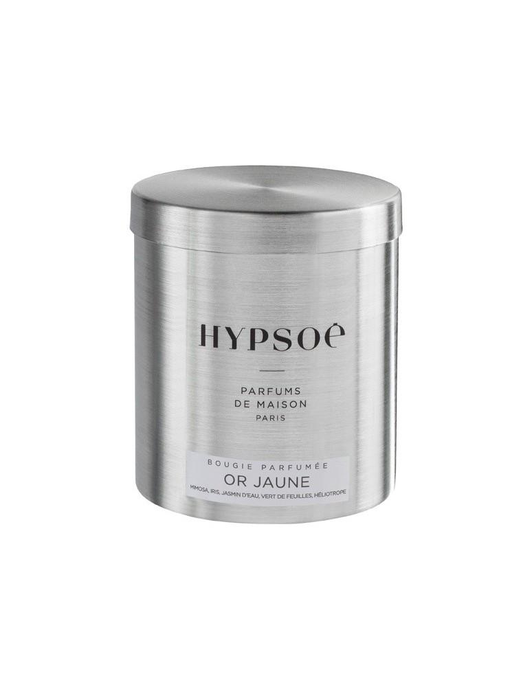 Bougie Hypsoe - Or Jaune