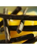 écorces d'oranges confites et chocolat noir