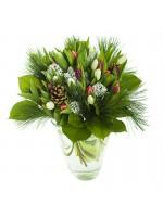 bouquet de fleurs festif tulipes