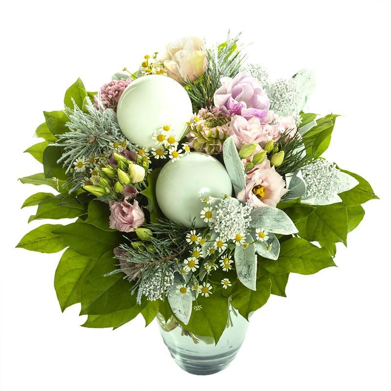 Bouquet de fleurs couleurs pastels