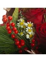Fleurettes bouquet festif
