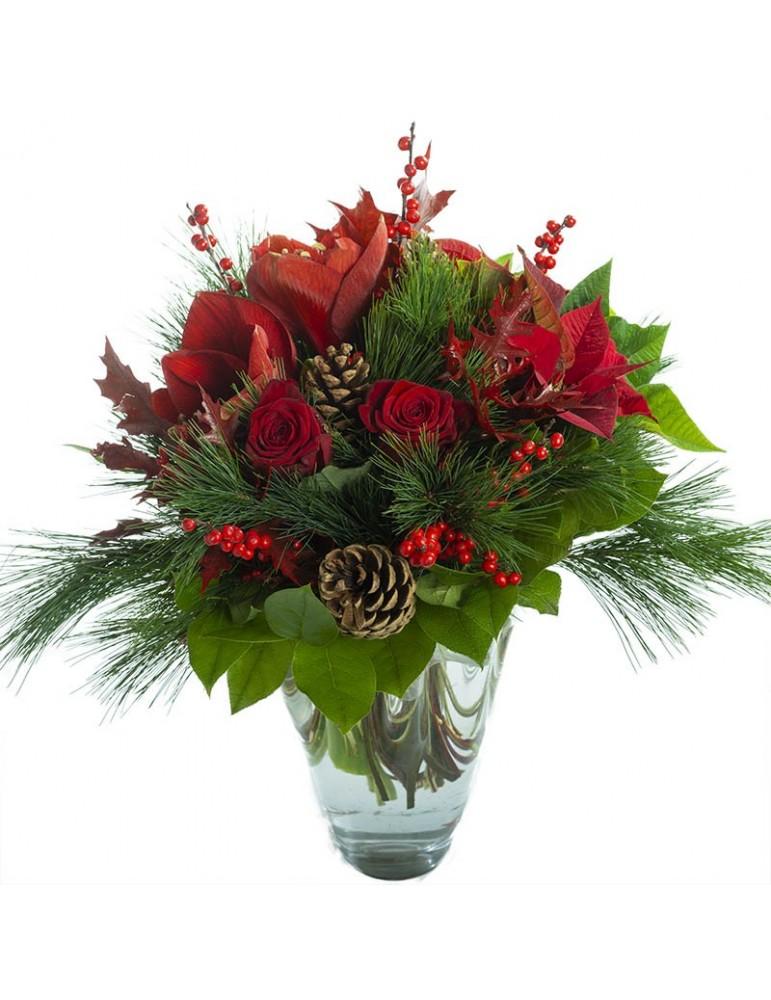 bouquet de Noël traditionnel