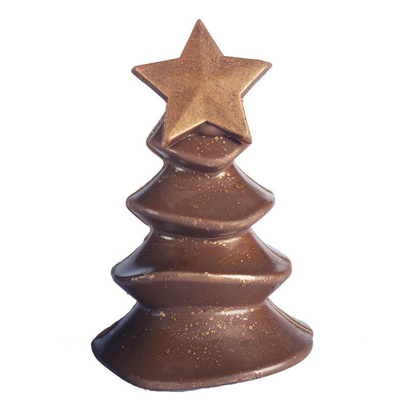 Sapin chocolat et praliné