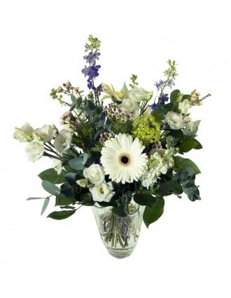 bouquet haut fleurs blanches