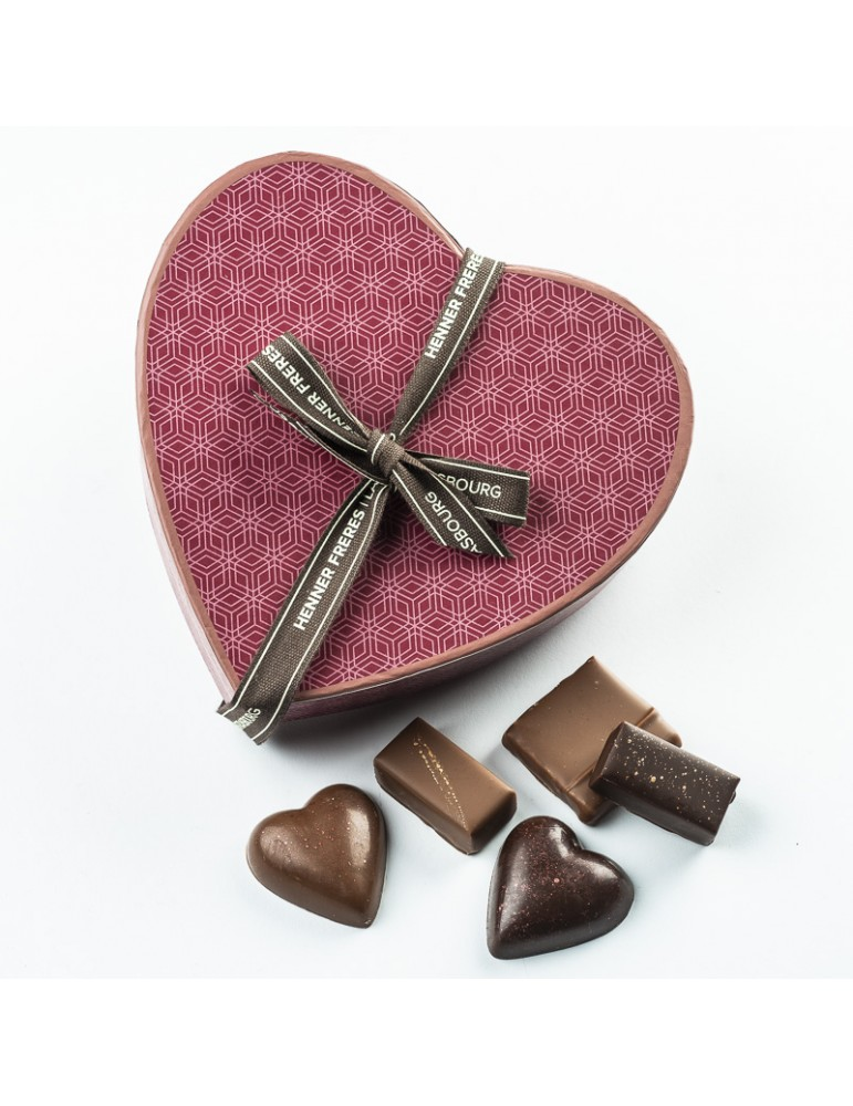 Boite Chocolats Cœur